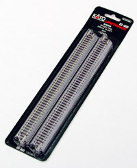 Kato 20-000 Ground Level Straight Track 248mm, 4 pieces per pack
