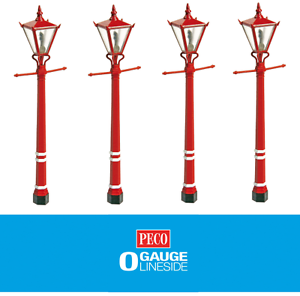 Peco LK-759 Station Lamps (x4)